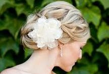 Bridal Hair / by WeddingWoo
