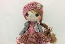 Crochet Amigurumi - Doll 1 / by Pupucho -