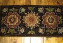Hooked rugs / Hooked rugs / by Bertie B