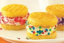 Yummy Desserts / Treat your family to these delicious desserts that are sure to please.  / by Eggo Waffles
