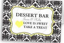 Dessert bar -Steph's wedding / by Michele Jones