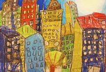3rd grade art projects / by Christy Sturdivant-Buitendorp