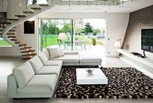 """CONTEMPORARY / Contemporary interior design is characterized by the """"INNOVATIVE""""  way it reinterprets conventional styles in a clean, linear and """"MINIMAL"""" fashion.   / by Debra Ackerbloom"""