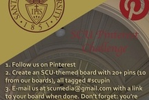 SCU Pinterest Challenge: May 2013 / Be creative and show us how much you love Santa Clara University! / by Santa Clara University