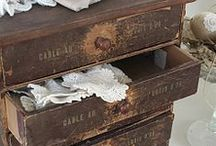 """♔ La MeRcERiE [ViNTaGe] ♥ / Collection of antique items from old-time """"merceries"""" / by MyFairyLily"""