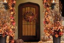 FALL HOME ENTRIES...............love the fall...best of all! / by Peggy Frontz