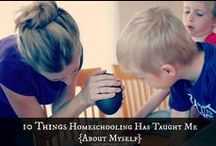 Homeschool Encouragement / Things to encourage you as you teach your children at home. / by AFHE Homeschool