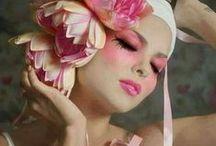 ``♚``Painted faces``♚`` / ~`~`Face makeup,  Fantasy Makeup Photography~`~~`~` / by ¸.•♥•.¸¸.•♥•Rachel•♥•.¸¸.•♥•.¸