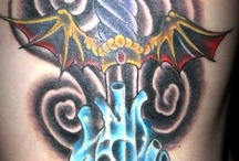 TATTOOS * That I have or refrences for future!! / by Vamp Rva