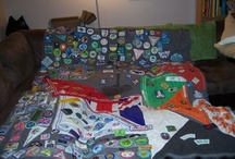 Camp Blankets & Ponchos / Our Members love their badges and adorn their camp blankets with them!  / by Girl Guides of Canada