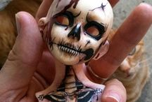 Art~Toys Dolls Sculp / Not your grandmother's dolly. / by Sonja McDaniel