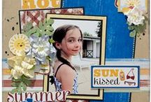Scrapbook layouts  / Scrapbooking is one of my passions and so I enjoy seeing the different layouts and ideas.  / by Patricia Little-Howell