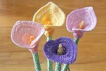 ♡ Crochet Flowers ♡ / How to crochet flower with * photos * tutorial *  / by jazzi crafts