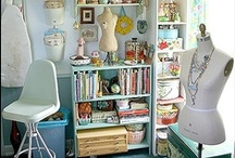 Craft & Work Spaces / Great ideas for functional storage and display. / by Boho Chic Jewelry