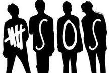 5SOS / Luke, Calum, Michael, and Ashton :) / by Jessica Ryan