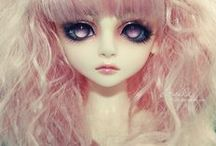 Ball Jointed Dolls / You might think they're creepy or kind of scary, or you might love them...either way, they're pretty perfect...(>'-'<) / by Polka Dot