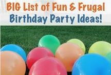Birthday Party Inspiration / by Dollar Store House