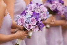 A Purple Wedding Arrangements / by Anne Kordek
