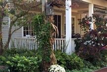 Porches I love -- Front, Back, Side / SISTERS ANTIQUES / by SISTERS ANTIQUES / Patty Green