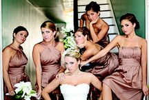 Bridal Party  / Dresses, accessories, hair, inspiration, groomsmen, mother of the bride, mother of the groom / by Shaifa Kremer