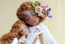 muñecas / muñecas hechas a mano / by Carlota Valadez