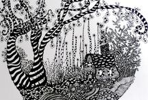 zen tangles/doodles / by Anne McChristie