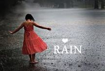 Rain fall / i like a smell of the rain and play on it / by Tonie Luqman
