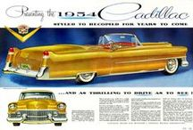VINTAGE CAR & TRUCK ADS / Ads of old cars and trucks from magazines,  etc. / by Gabe Janke