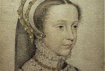 François II -Marie Stuart d'Ecosse / Née en1510, décès 1572 Reine de France (1559-1560) Conjoints: François II (1558-1560), Henri Stuart, / by pascale L.