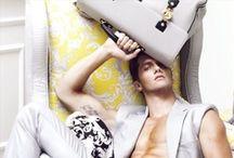 Men's Handbags / by Lucas Mejia