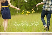 Ideas: Save The Date / Fun photography and design ideas for save-the-dates! #wedding / by Here Comes The Blog