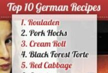 Top 10 German Recipes / These are the TOP 10 searched for German recipes. Interesting that most are desserts :-) / by Quick German Recipes