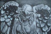 fairy-tale-ish art / art from a make believe world / by Cat Maessen