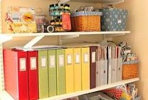 Organization / Menu Planning - Storage Ideas - Chores - Goal Planning - Laundry - Cleaning Routines - and Other Organization / by Keeper of the Home - Stephanie Langford