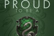BOOKS - HP - Slytherin / by Marge McCown