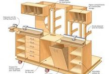 Working Wood / All things woodworking: Furniture to make, Shop tools, jigs, and organization, Etc / by Erica Adams   Purple Clover Stringworks