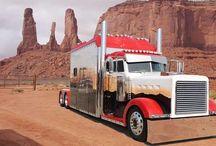 Trucks / Lastwagen aus USA / by Noldi Wieland
