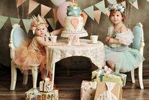 Sydney 2nd bday ideas / Shabby chic tea party / by Jill Cappaert