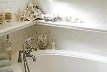 Master Bathroom / rustic beach theme / by Jill Cappaert