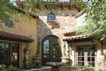 Grand Mediterranean Homes / by Kimberly Joy
