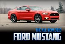 2015 Mustang / The all-new 2015 Ford Mustang is finally revealed! Connect with CJ Pony Parts to see the latest 2015 Mustang photos and be kept up-to-date on all 2015 Mustang news! / by CJ Pony Parts