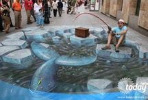 Art - Street & Sidewalk / by Lucys Escape