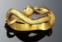 Jeweled Serpents / Victorian snake rings and more...Victorian snake rings are in the form of entwined snakes; to the victorians symbols of eternal love & life.  / by edain33