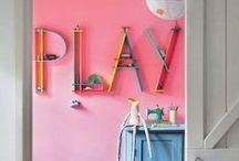 Decoración de ESPACIOS CREATIVOS / Ideas de decoración e interiorismo para crear espacio creativos e inspiradores para niños / by Rejuega