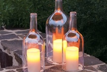 Bottles - Wine -  Upcycle Reuse Recycle Repurpose DIY / by Tickled Pink Memorabilia Mall