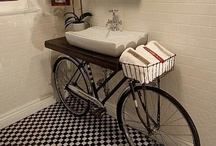 Bicycles -  Upcycle Reuse Recycle Repurpose DIY / by Tickled Pink Memorabilia Mall