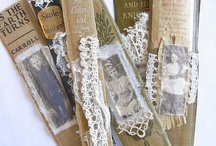 Book Spines -  Upcycle Reuse Recycle Repurpose DIY / by Tickled Pink Memorabilia Mall