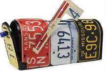 Car License Plates -  Upcycle Reuse Recycle Repurpose DIY / by Tickled Pink Memorabilia Mall