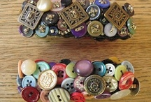 Buttons - Jewelry - Upcycle Reuse Recycle Repurpose DIY / by Tickled Pink Memorabilia Mall