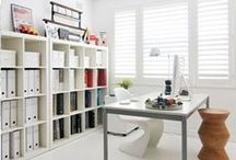 office space / Office spaces. Where productivity reigns!  / by Dot & Bo